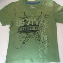 Camiseta verde street Brooksfield Jr - 2 anos - Brooksfield Júnior