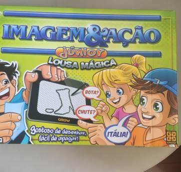 Jogo Imagem & Ação Junior com Lousa Mágica - Sem faixa etaria - Grow