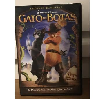 DVD Gato de Botas - Sem faixa etaria - Dream Works
