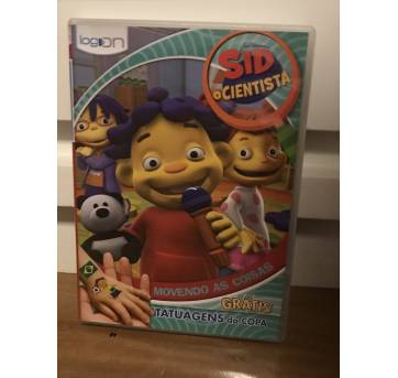 DVD Sid o Cientista - Movendo As Coisas - Sem faixa etaria - LOG ON Editora Multimídia