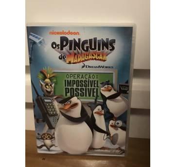 DVD Os Pinguins de Madagascar - Operação Impossível possível - Sem faixa etaria - Dream Works