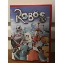 DVD Robôs da Disney - Sem faixa etaria - Disney