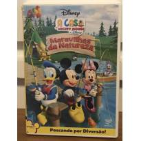 DVD A Casa do Mickey Mouse - Maravilhas da Natureza -  - Disney