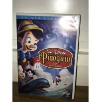 DVD Pinoquio Edição Platinun da Disney - Sem faixa etaria - Disney