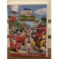 DVD A Casa do Mickey Mouse - o Rally do Mickey -  - Disney