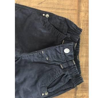 Calça azul marinho Chicco - 1 ano - Chicco