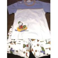 Pijama camiseta e short atividade esportivas Sonhart - 1 ano - Sonhart