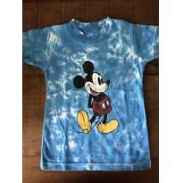 camiseta Azul Mickey Walt Disney World - 9 a 12 meses - Disney
