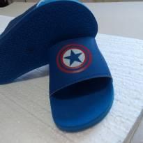 Chinelo capitão América - 31 - Não informada