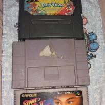 Cartuchos de super Nintendo - Sem faixa etaria - Não informada
