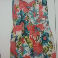 Vestido florido - G - 44 - 46 - Não informada