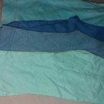 Kit com 4 calças - 0 a 3 meses - Não informada
