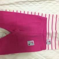 Kit leggings - 3 a 6 meses - Teddy Boom