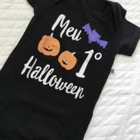 Body meu primeiro Hallowen - 3 a 6 meses - Teddy Boom