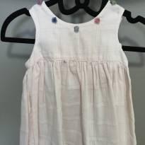 Lindo vestidinho em algodão - 6 meses - Pupi