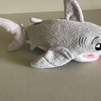 Tubarão esponja (sabonete fica na parte interna). Marca: Soapsox -  - Importada