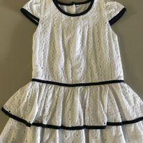 Vestido Laise branco - 2 anos - Puppi
