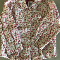 Camisa floral GAP - 3 anos - Baby Gap