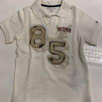 Camiseta Polo Tommy Hilfiger - 4 anos - Tommy Hilfiger