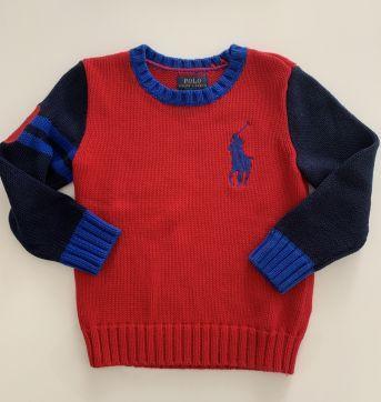 Suéter Tricô Ralph Lauren - 4 anos - Ralph Lauren