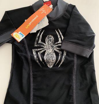 Kit camiseta surf + sunga Spider Man - 4 anos - MARVEL