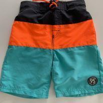 Bermuda táctel colorida - 8 anos - OshKosh