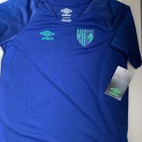 Camiseta futebol azul Umbro Manchester - 7 anos - Umbro