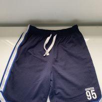 Bermuda tactel azul Oshkosh - 8 anos - OshKosh