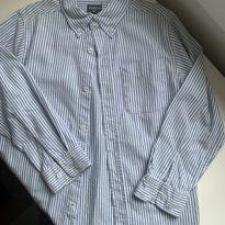 Camisa m/l listrada OshKosh - 8 anos - OshKosh