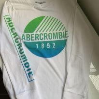 Camiseta m/l Abercrombie - 7 anos - Abercrombie
