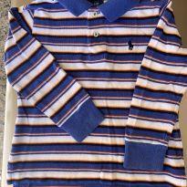 Camiseta m/l Ralph Lauren - 2 anos - Ralph Lauren
