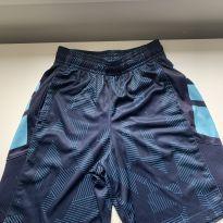 Bermuda Sport azul - 8 anos - Champion