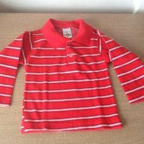 Camisa Polo manga comprida - 1 ano - Luan