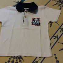 Camisa Pólo Tigor Baby - 1 ano - Tigor Baby