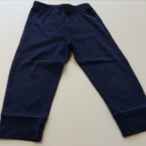 Calça Moletom Carter´s Azul Marinho Carrinho - 18 meses - Carter`s