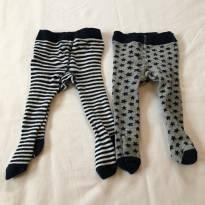 Meia-calça para Inverno - Meninos - 3 a 6 meses - Topo Mini
