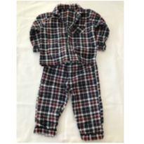Pijama de Flanela - 9 a 12 meses - Primark