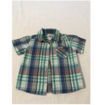 Camisa Manga Curta Zara Baby - 9 a 12 meses - Zara Baby