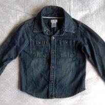 Camisa Jeans - 2 anos - Carter`s