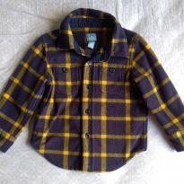 Camisa Xadrez Flanelada - 18 a 24 meses - Baby Gap