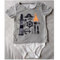 Body Camiseta - 2 anos - Carter`s