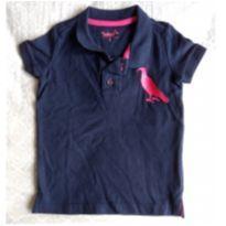 Camiseta Polo Azul Marinho - 2 anos - Reserva mini