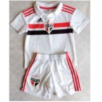 Uniforme do São Paulo - 4 anos - Adidas