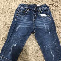 Calça jeans - 3 a 6 meses - Paola BimBi
