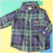 Camisa Carter`s - 3 a 6 meses - Carter`s
