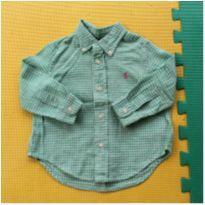 Camisa Polo by Ralph Lauren - 18 a 24 meses - Ralph Lauren