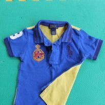 Camisa Polo by Ralph Lauren - 12 a 18 meses - Ralph Lauren