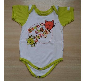 Body Jungle Limão - TAM G  - Le&Ma Baby - 6 a 9 meses - Le & Ma Baby