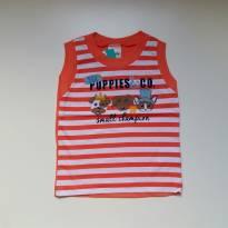 Camiseta Regata Royal Club - Elian - Tam G - 9 a 12 meses - Elian