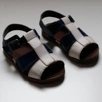 Sandália Azul e Branco Pimpolho TAM 21